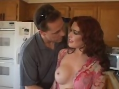 This milf redhead is crazy for hawt cock