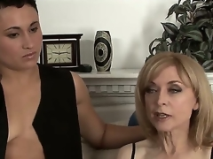Nina Hartley adores girls and that babe changes girlfriends very often so this is her fresh beloved Syd Blakovich A and you will be greatly impressed to watch both in hawt fuck session