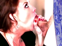 Here we have a cute office worker. Her name is Chanel Preston and her boobies are lovely and juicy. But her boss is upset and she actually craves co cheer him up. Lets watch this!