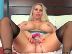 Fat playgirl Alura Jenson models lingerie