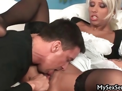 Black Diamond gets fucked hard by obese part1