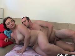 Chubby grandma needs your recent cum