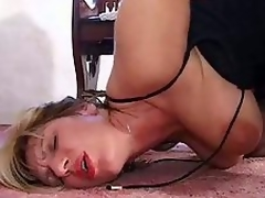 Large bra buddies mature gangbanged in butt