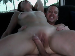 Sage Evans Makes The Van Floor Juicy